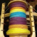 Done! :o) now to let it rest so I can ply #spinning #tdf
