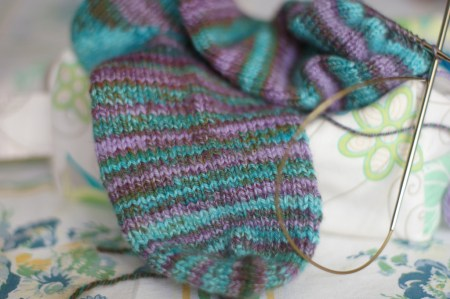 Isle Caribe Sock in Progress