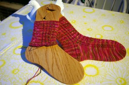 Mad Color Weave Socks