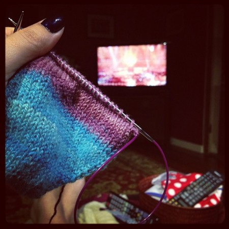 My #olympic #knitting maybe I'll have socks in 16 days ;)