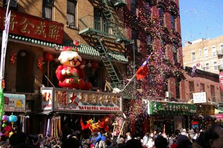 NYC Chinatown New Year Parade 1