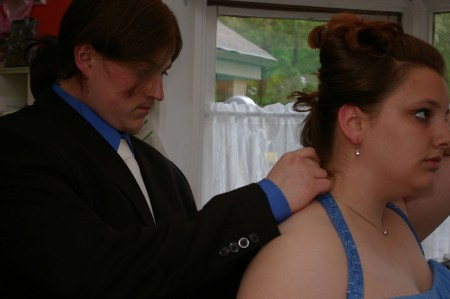 Prom Preparation - the necklace