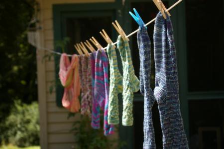 Socks on the Line