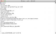 Edition du fichier de configuration via VI