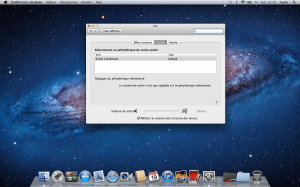 MacBook Pro Retina - Test Sortie Optique - Préférence Audio