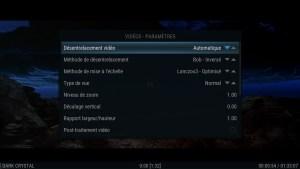 Shield TV - SPMC - Vidéos - Paramètres