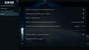 Shield TV - SPMC - Niveau de réglages Expert