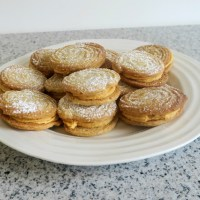 Spiced Viennese Whirls with Pumpkin Buttercream (GBBO Week 2)