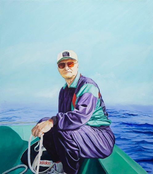 Andrei, 2021, oil on canvas, 80 x 70 cm