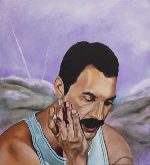 Freddie, 2021, oil on canvas, 50 x 45,5 cm (private collection)