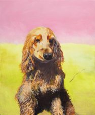 Otto, 2021, oil on canvas, 48 x 40 cm