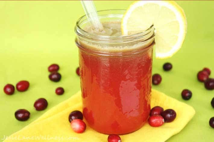 Fresh Cranberry Smoothie