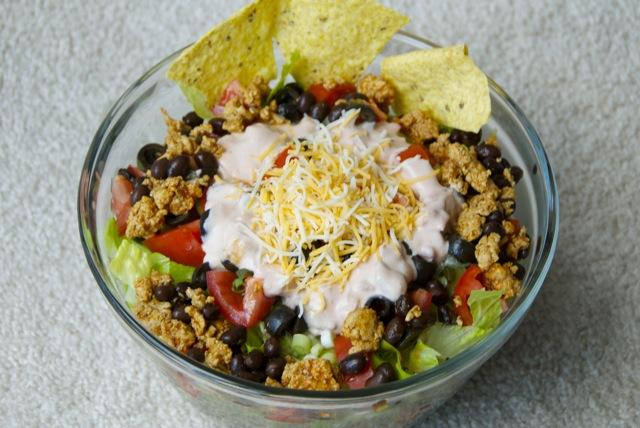 Taco Salad from jessfuel.com