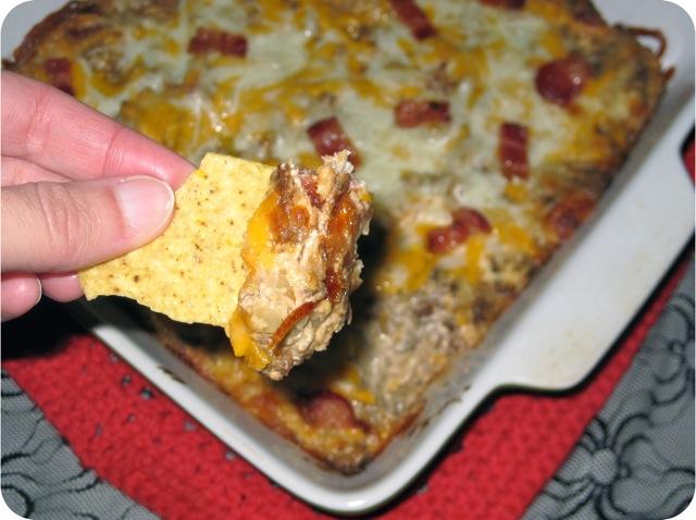 Bacon Double Cheeseburger Dip