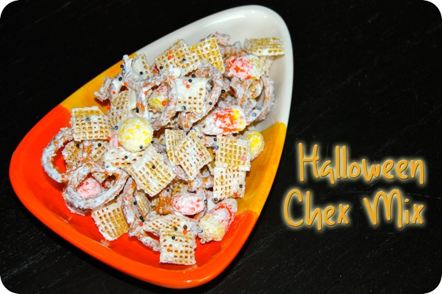 Halloween Chex Mix