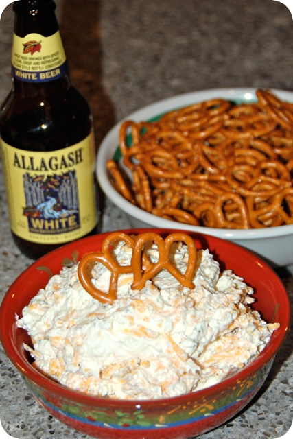 This easy to make Beer Cheese Dip is made with 4 simple ingredients, but will wow your guests with flavor. It's delicious served up with chips or pretzels!