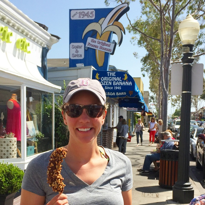 The Original Frozen Banana, Balboa Island, CA