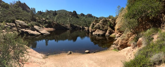 Reservoir at Pinnacles National Park, Paicines, CA