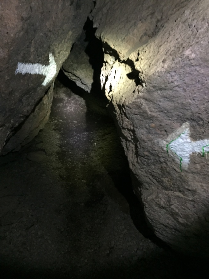 Talus Caves in Pinnacles National Park, Paicines, CA