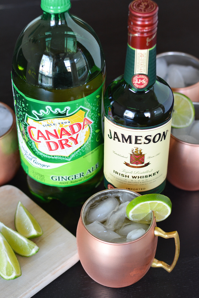 Irish Mule Cocktails