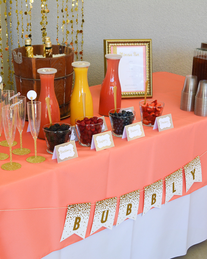 Bubbly Mimosa Bar