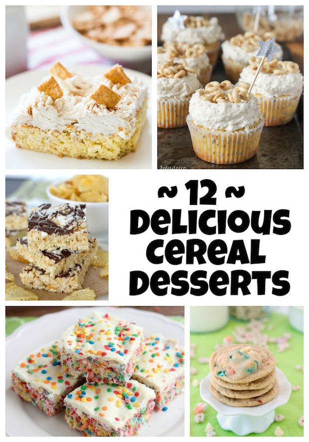 12 Delicious Cereal Desserts