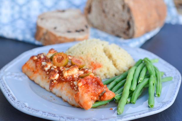 Baked Mediterranean Cod