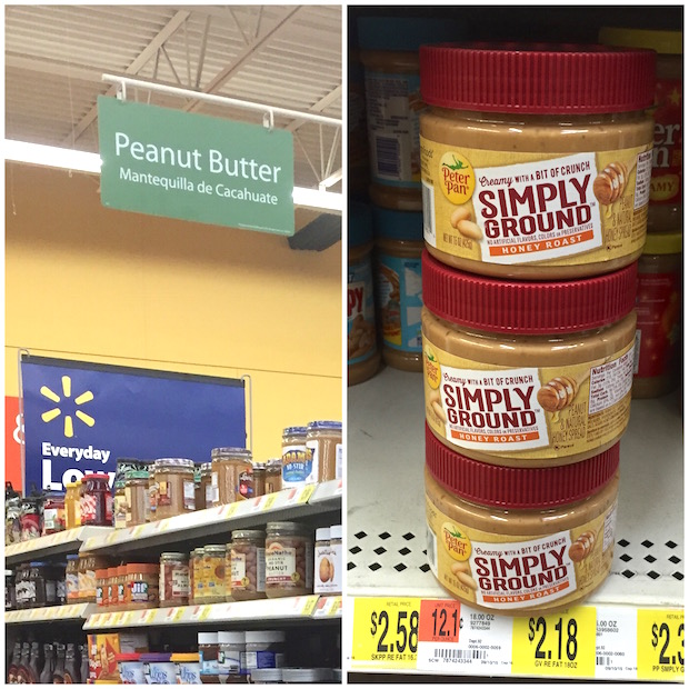 Peter Pan Simply Ground at Walmart
