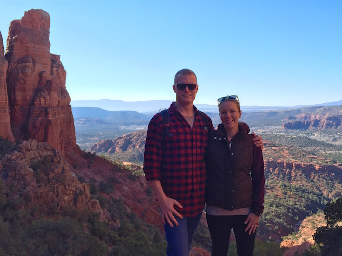 Cathedral Rock hike, Sedona, AZ