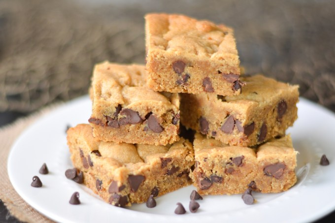 Chocolate Chip Peanut Butter Blondies