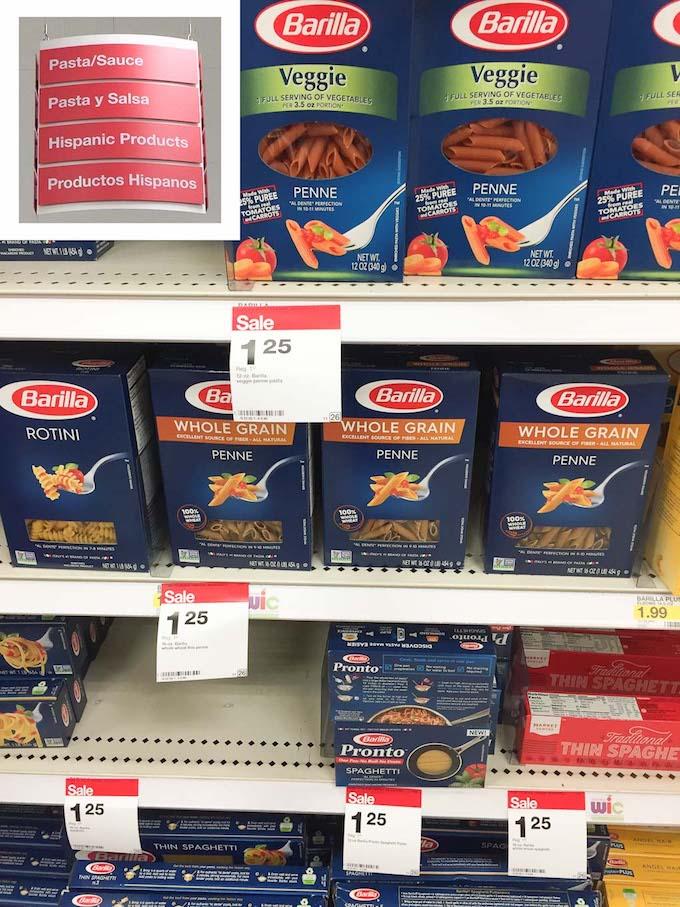 Barilla at Target