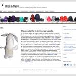 Sock Bunnies website screen shoot