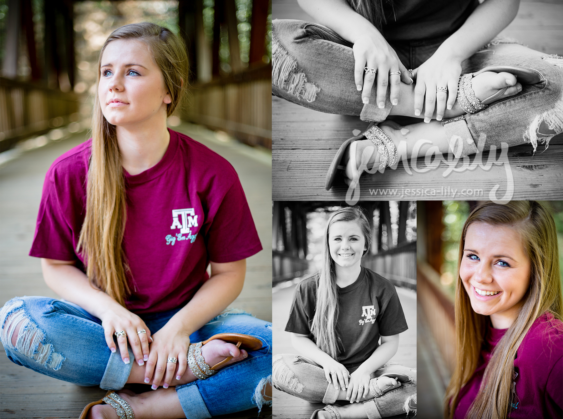 Meghan at the Roswell Mill -Senior Portraits with Jessica Lily