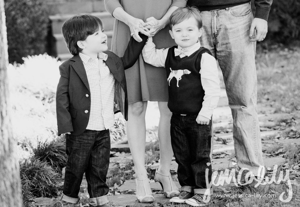 My favorite twins at home for their Buckhead Family Portrait Session