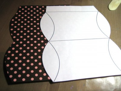 pillow box gift card holder tutorial outstanding mini albums