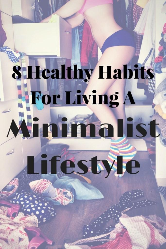 habits for minimalist lifestyle