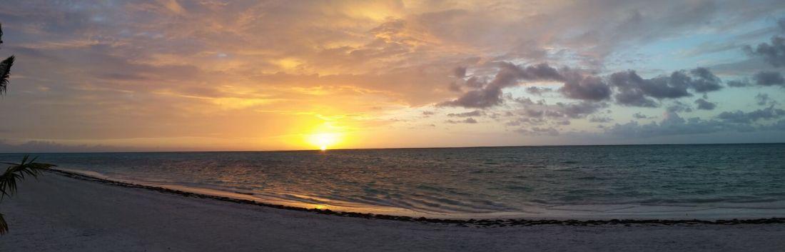 2017 Year end reflection - sunrise in Punta Cana