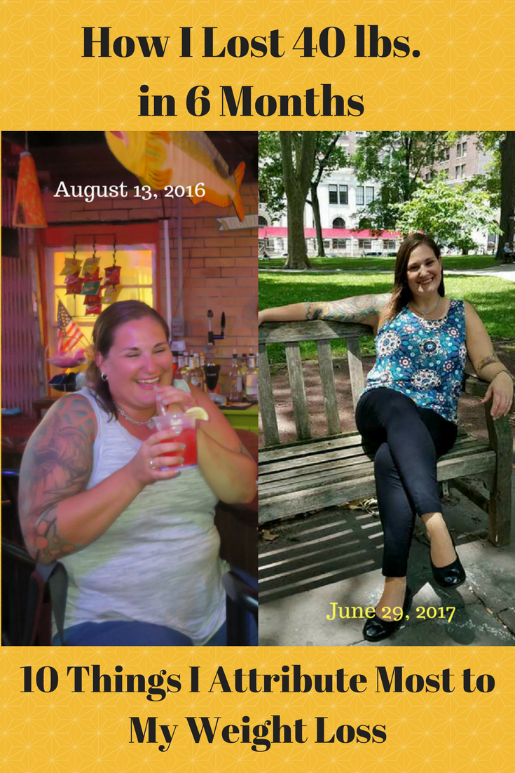 After losing 40 pounds, the most frequent question I get is HOW!?!? This post answers the question with specifically how I lost 40 pounds in six months.