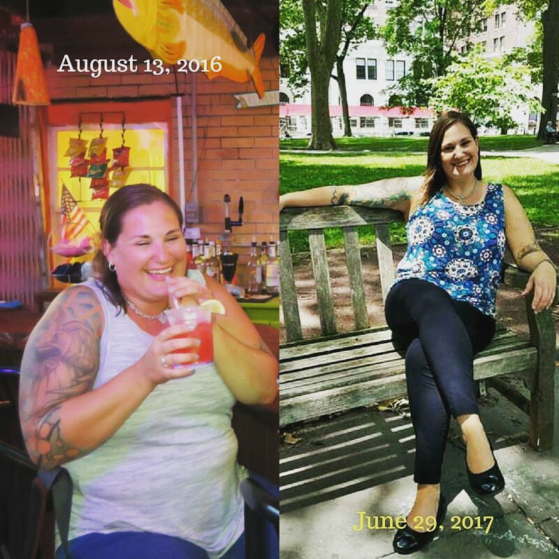 how I lost 40 pounds in six months
