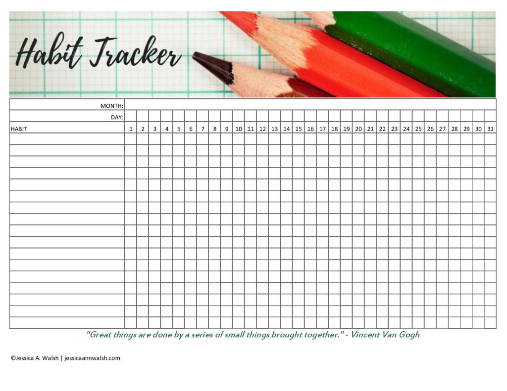 why you should use a habit tracker