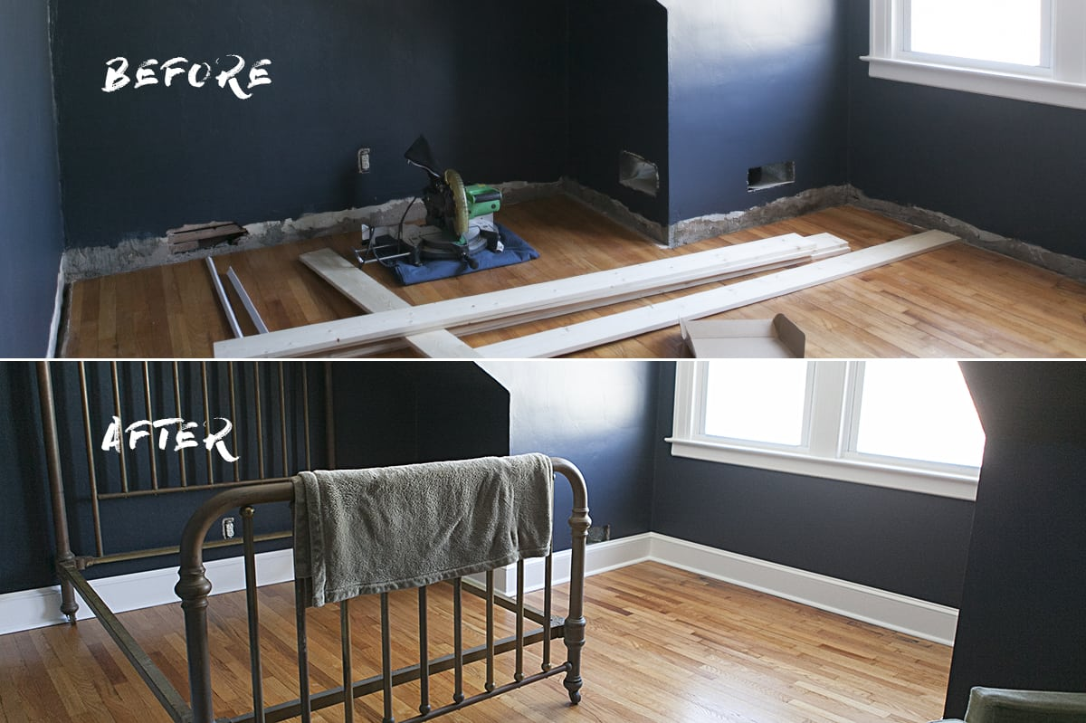 Before After Indigo Bedroom Jessica Brigham