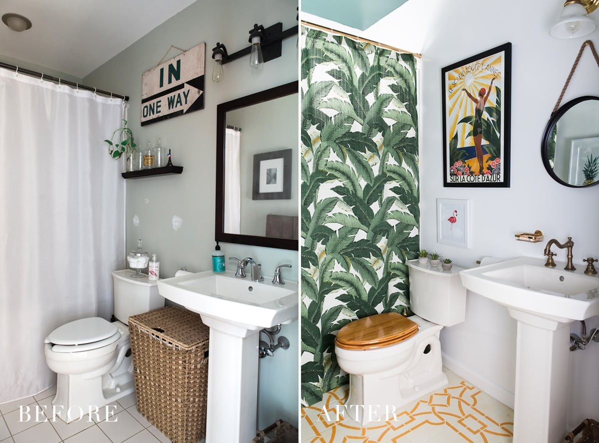 one room challenge: modern boho bathroom reveal » jessica brigham