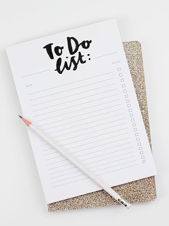 The To Do List | Best Notepads to Stay Organized | Weekly Planner | Annie Dornan Smith | Jessica Brigham Blog