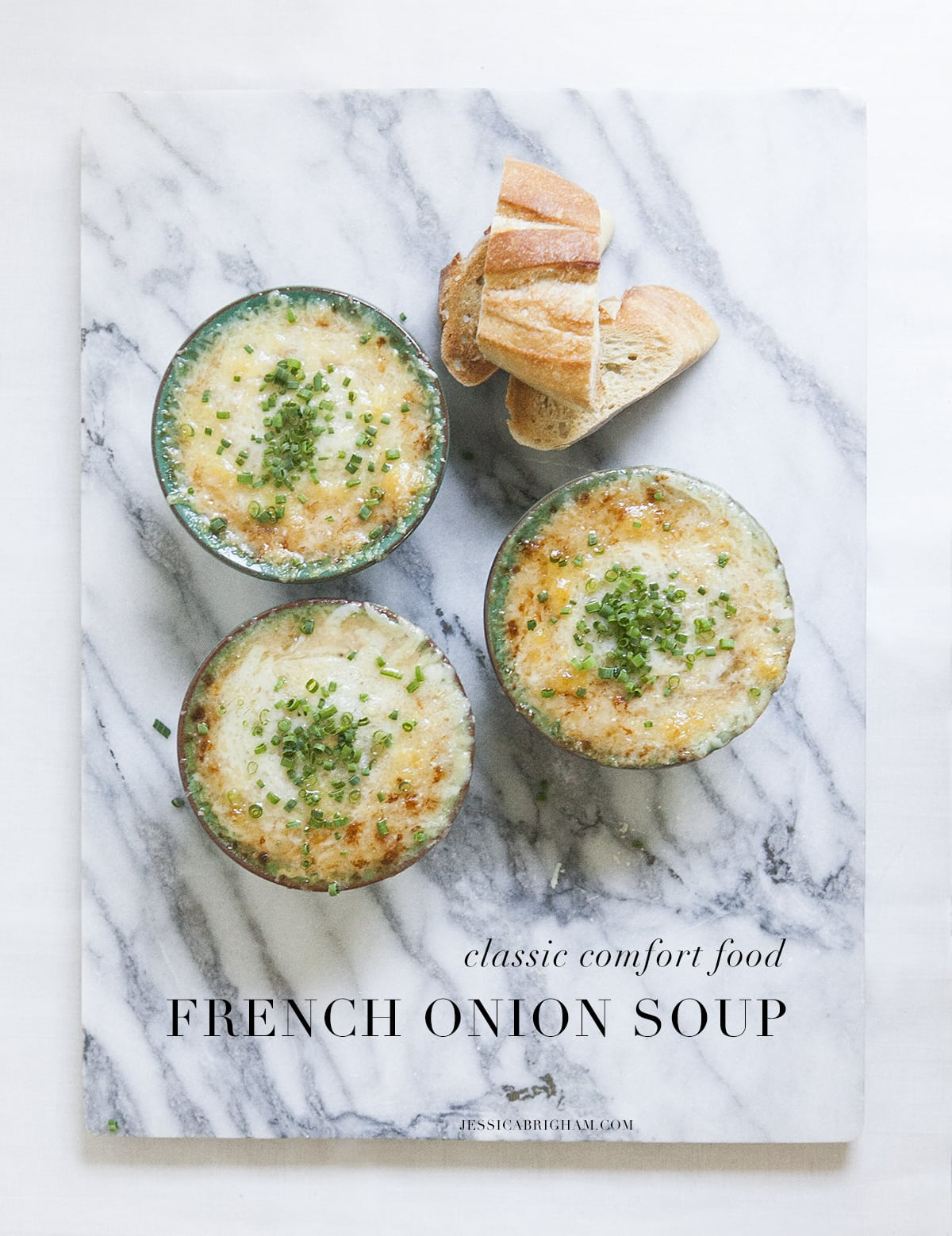French Onion Soup | Comfort Food | Classic Cooking | Seasonal Cooking | Jessica Brigham Blog