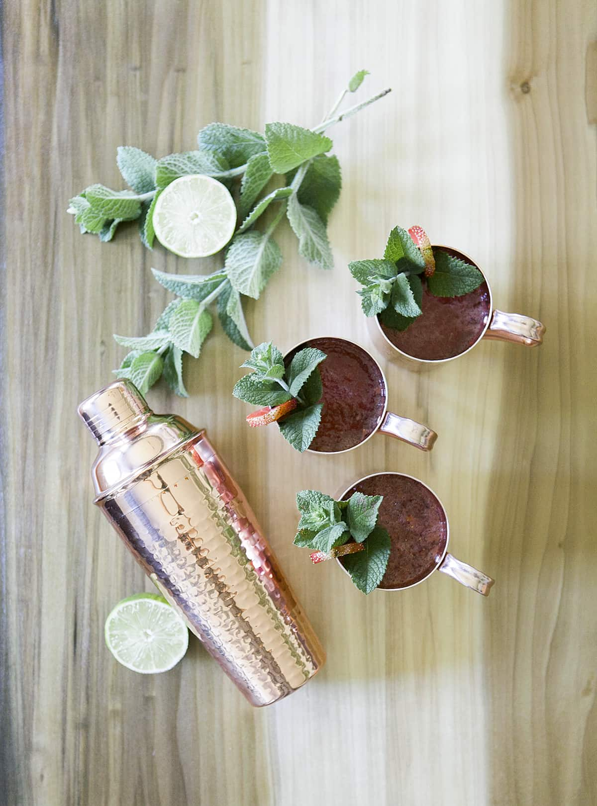 Moscow Mule | Classic Cocktails | Drink Your Garden | Jessica Brigham Blog | Magazine Ready for Life