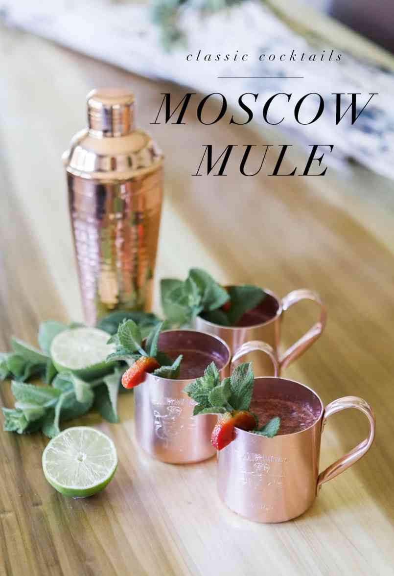 Moscow Mule   Classic Cocktails   Drink Your Garden   Jessica Brigham Blog   Magazine Ready for Life
