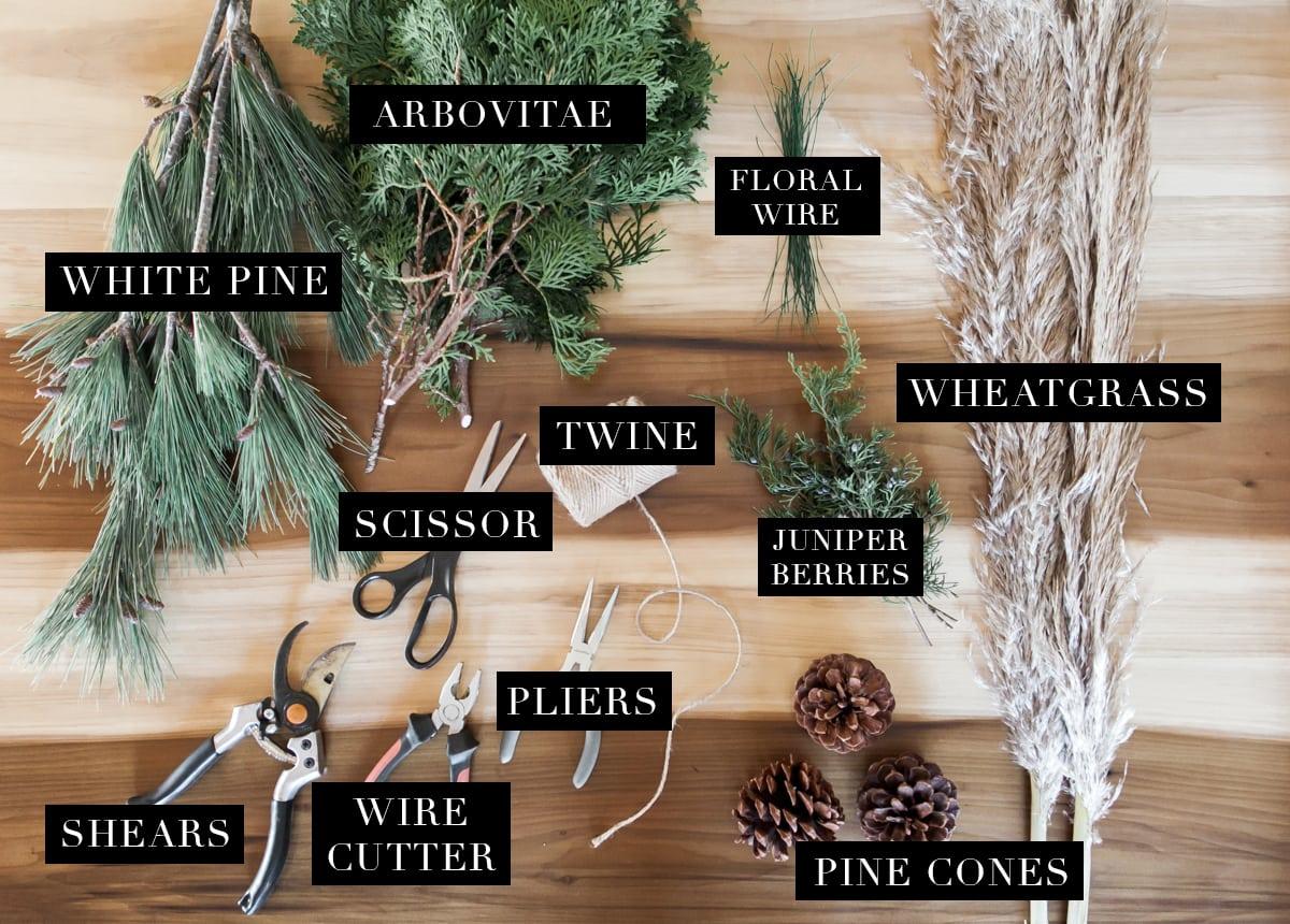 Diy Christmas How To Make Your Own Fresh Christmas Garland