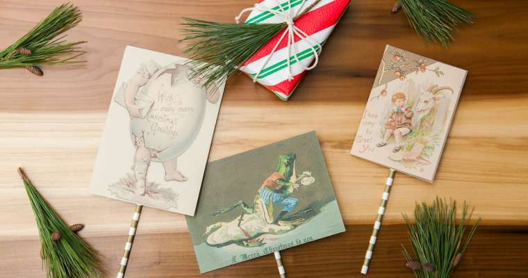 Try This: Last Minute (and Hilarious) Handmade Christmas Cards