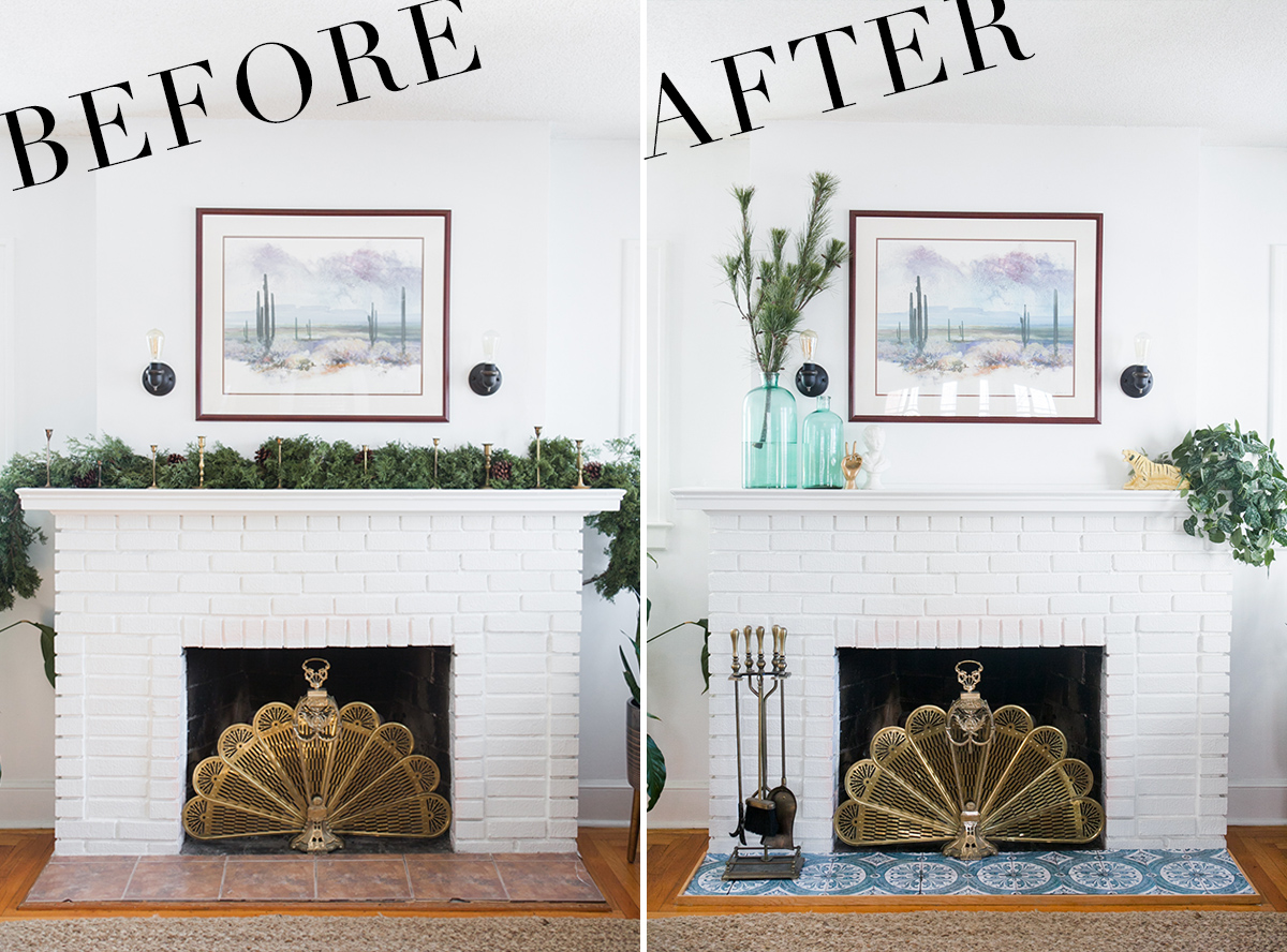my easy and inexpensive diy fireplace makeover a giveaway rh jessicabrigham com