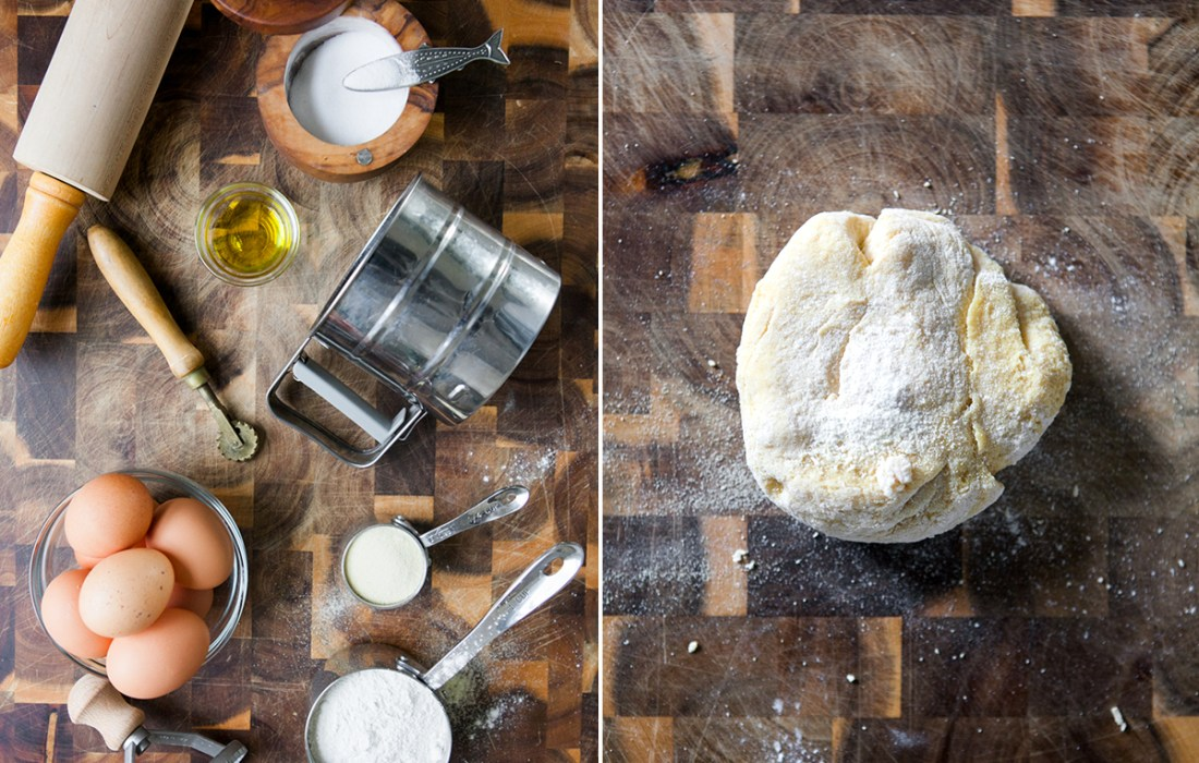 Cooking With Friends: Homemade Pear + Mascarpone Ravioli with Mrs. Ball